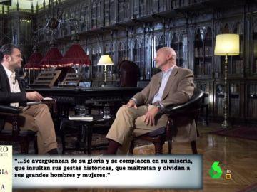 Arturo Pérez-Reverte, en laSexta Noche