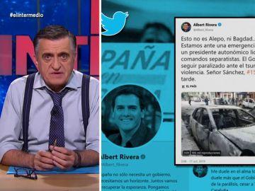 """Wyoming pide a Rivera que rebaje el """"tono"""" sobre Cataluña"""