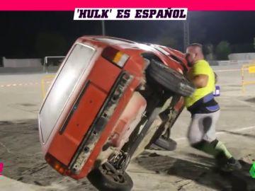 Hulk es... español: conoce al hombre más fuerte de Europa