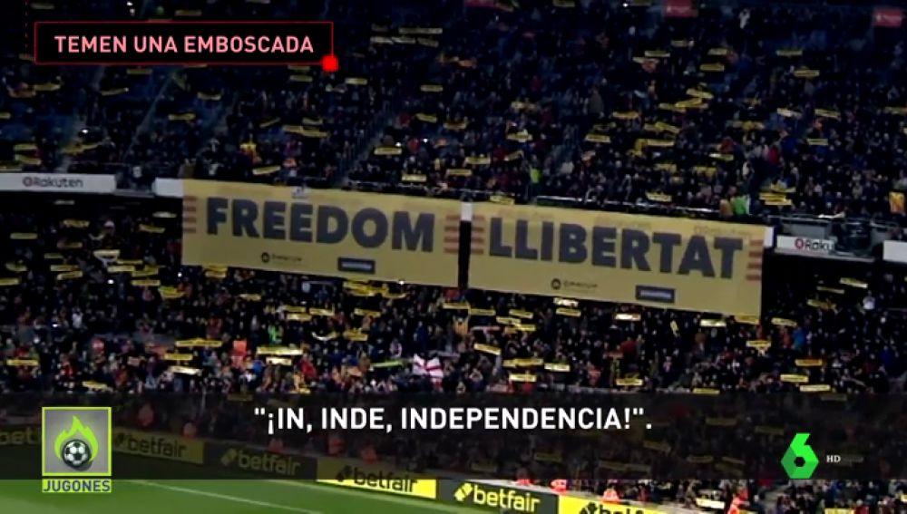 El temor a un boicot independentista, clave en el posible aplazamiento del Clásico en el Camp Nou