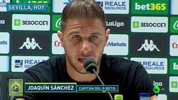 """El mensaje viral de Joaquín a Guardiola y Xavi: """"No se puede perder el respeto"""""""