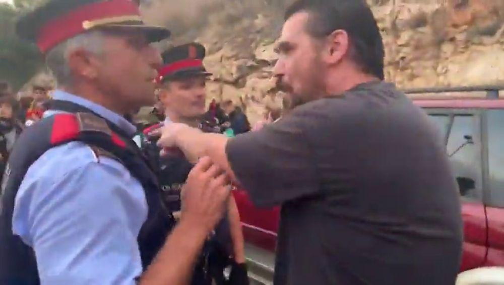 """Máxima tensión en las carreteras catalanas: """"Si estuviera nervioso cojo gasolina y los quemo"""""""