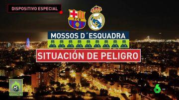 Refuerzos desde tres puntos de España: así será el despliegue de seguridad para el día del Clásico en Barcelona