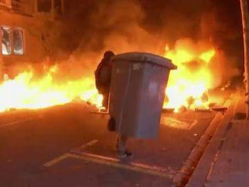 Y el 'tsunami democrático' incendió Cataluña: crónica de una semana de protestas independentistas