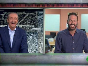 Imperdible: el ataque de risa de Josep Pedrerol en pleno directo