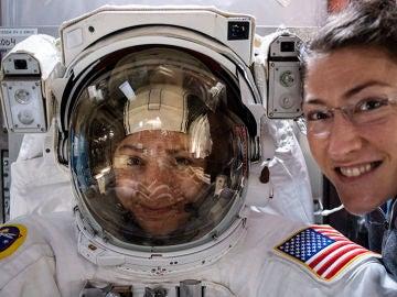 Llega el primer paseo espacial protagonizado solo por dos mujeres