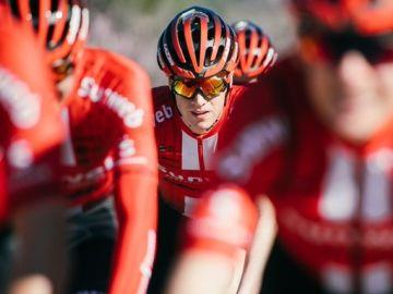 El ciclista holandés Edo Maas