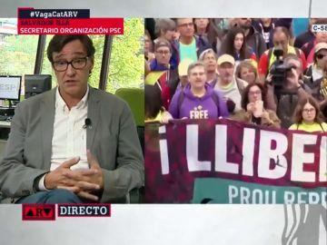 Salvador Illa en Al Rojo Vivo