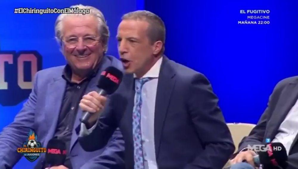 """Cristóbal Soria convierte los pitos en aplausos en Málaga: """"Voy a ser breve..."""""""
