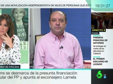 """Jesús Maraña, sobre la declaración de Esperanza Aguirre: """"Todo lo hace con seguridad, pero es poco creíble"""""""