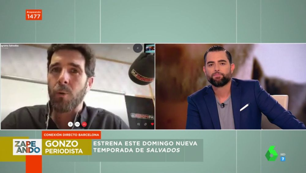 "El 'enfado' de Dani Mateo con Gonzo: ""Me parece vergonzoso; me la apunto"""