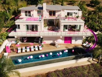 La mansión de 'Barbie Malibú'