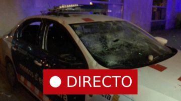 Disturbios en Cataluña