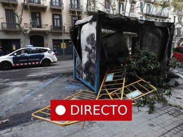 Barcelona | La última hora en Cataluña de la sexta jornada de movilizaciones contra la sentencia del procés