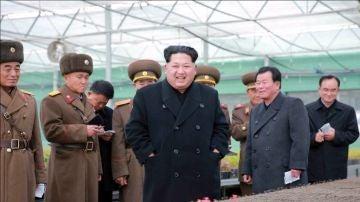 Imagen de archivo del líder de Corea del Norte, Kim Jong-un