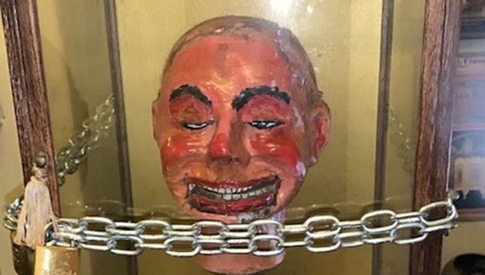 Imagen del muñeco ventrículuo