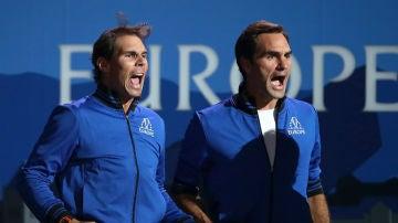 Nadal, con Federer