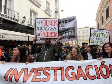 """""""Marcha por la ciencia"""" en Madrid"""