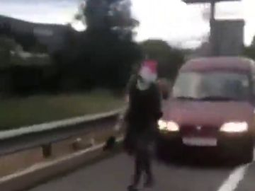 Las impactantes imágenes del atropello a dos personas en una concentración de los CDR en Argentona, Barcelona