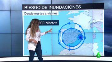 España se prepara para un nuevo episodio de lluvias torrenciales e inundaciones en el Mediterráneo