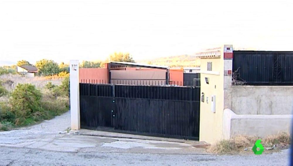 Imagen del lugar donde un hombre ha matado a su mujer en Granada