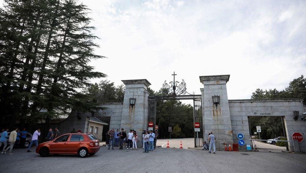Entrada al Valle de los Caídos