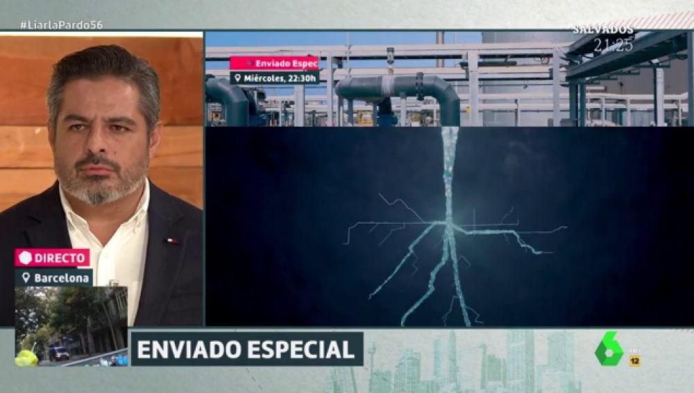 Jalis de la Serna presenta la nueva temporada de Enviado Especial