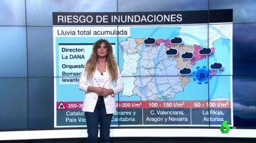 vídeo reemplazo Una nueva Dana generará una borrasca que dejará lluvias torrenciales