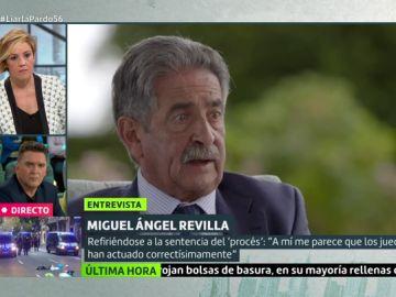 """La rotunda opinión de Revilla sobre Torra: """"Un presidente no puede incumplir las normas, es un pirómano"""""""