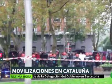 Cargas en Bilbao
