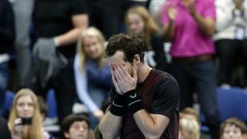 Andy Murray, llorando