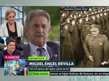 """Cuando Revilla y Franco coincidieron en Santander: """"Nos llevaban en un camión de vacas a unas 40 personas"""""""