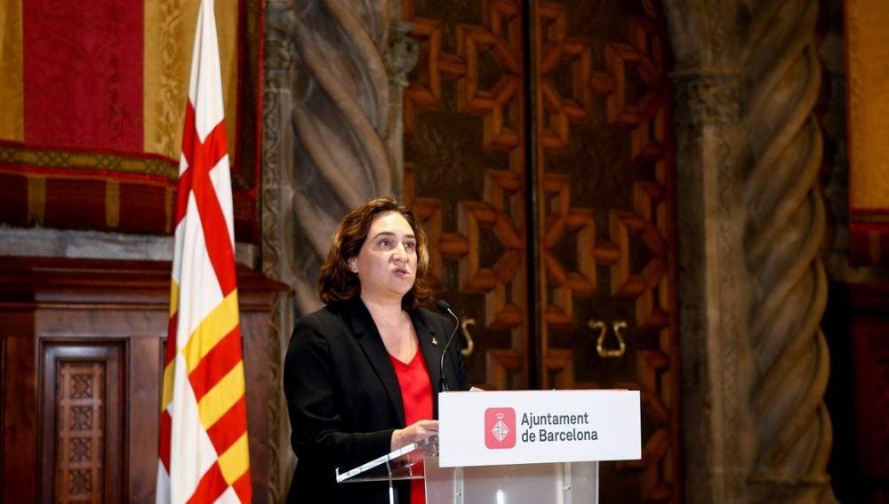 Imagen de Ada Colau, alcaldesa de Barcelona