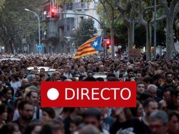 Barcelona | Cataluña: Sigue en directo el séptimo día de manifestaciones convocadas