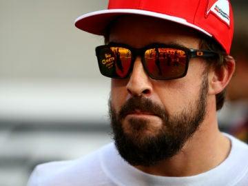 Fernando Alonso, con Ferrari