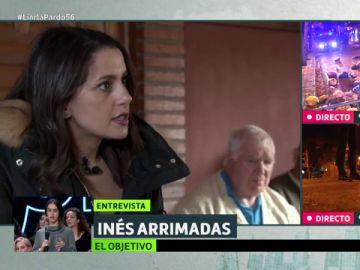 Inés Arrimadas con Luis Troya