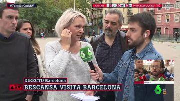 La candidata de Más País A Coruña Carolina Bescansa