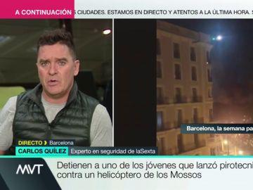 """Jóvenes italianos y holandeses, entre los radicales """"antisistemas"""" causantes de los disturbios en Cataluña"""