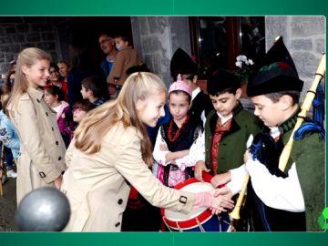 La mirada de una niña asturiana a Leonor que está revolucionando las redes sociales