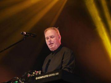 Paul Humphreys durante un concierto (archivo)