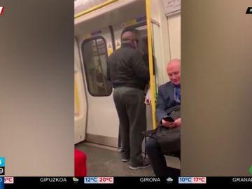 Un pasajero arrasa en Internet cantando a gritos por Bon Jovi en el Metro de Londres
