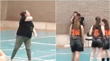 Una mujer amenaza e intenta agredir a un árbitro durante un partido de cadetes