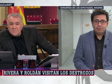 El diputado de En Comú Podem, Gerardo Pisarello