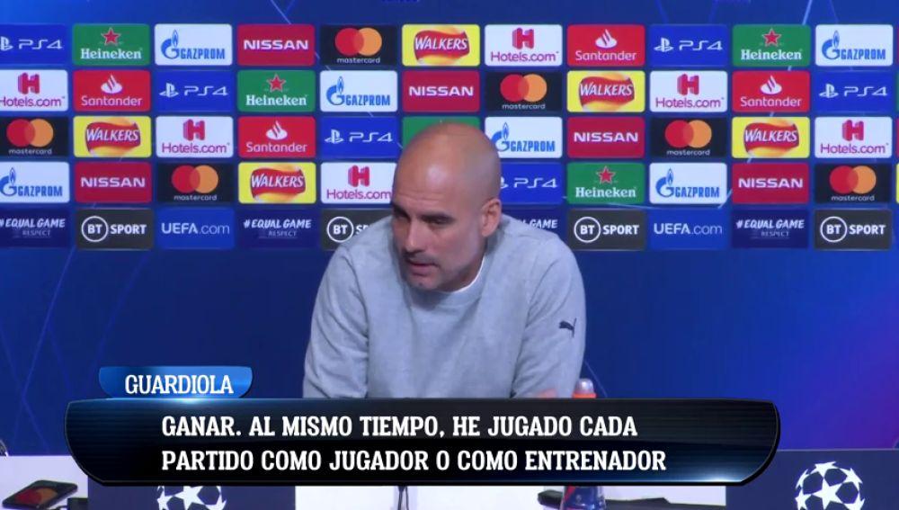 """Un periodista se cansa de Pep Guardiola: """"Cada año dices lo mismo"""""""
