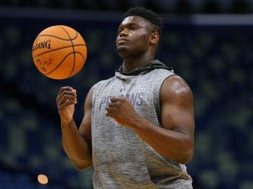 Zion Williamson, jugador de los New Orleans Pelicans