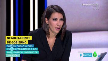 """Ana Pastor responde a Pablo Iglesias: """"¿Tiene alguna duda de que yo no le haría esa pregunta a Sánchez?"""""""