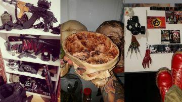 Imágenes de la casa del descuartizador de Valdemoro