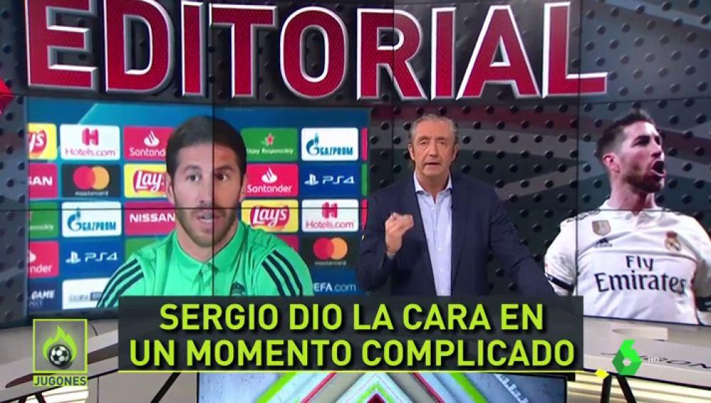 """Pedrerol, a Ramos: """"La mejor defensa de Zidane no se hace en una rueda de prensa; se hace en el campo"""""""