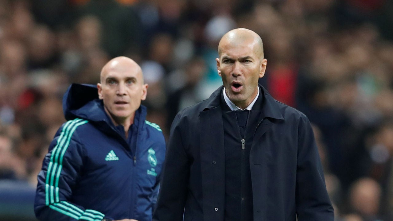 Zidane, tras salvar el 'match ball' en Estambul