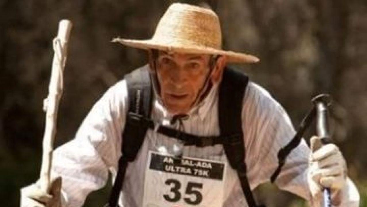 'Súper Paco', durante una carrera